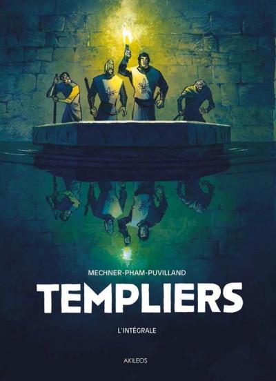 Couverture Templiers - intégrale