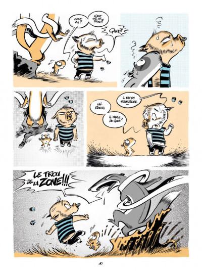 Page 6 Le trou de la zone