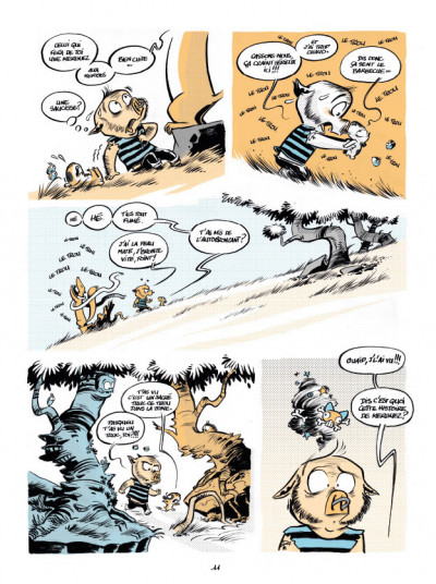 Page 7 Le trou de la zone