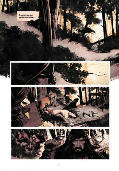 Page 4 Le roy des ribauds tome 2