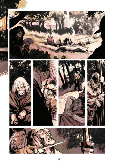 Page 5 Le roy des ribauds tome 2