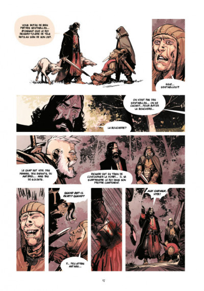 Page 8 Le roy des ribauds tome 2