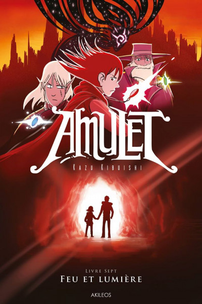 image de Amulet tome 7 - feu et lumière