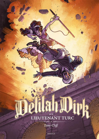 Couverture Delilah Dirk tome 1