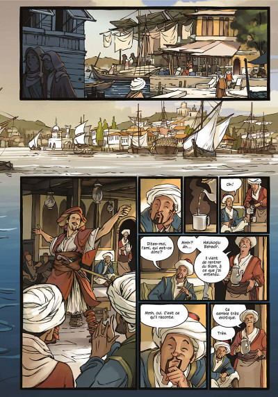 Page 5 Delilah Dirk tome 1