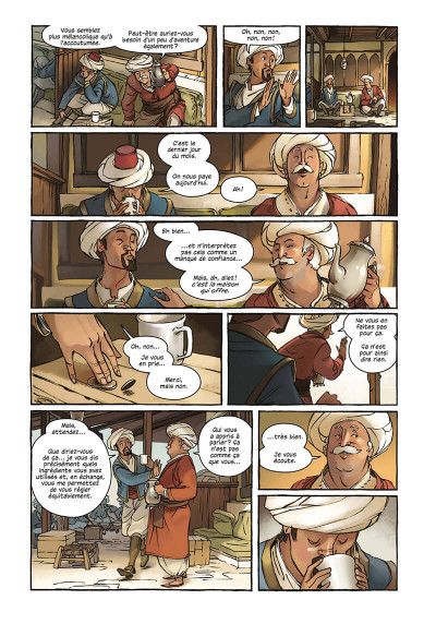 Page 6 Delilah Dirk tome 1