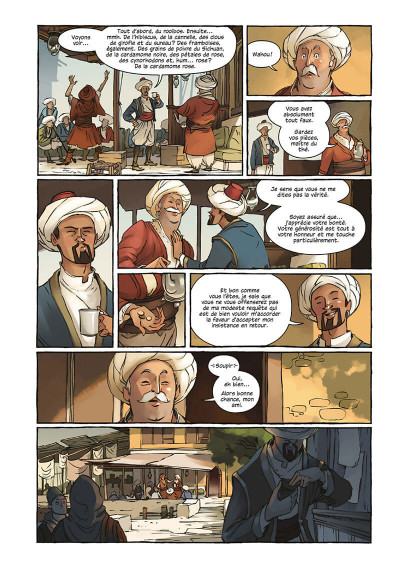 Page 7 Delilah Dirk tome 1