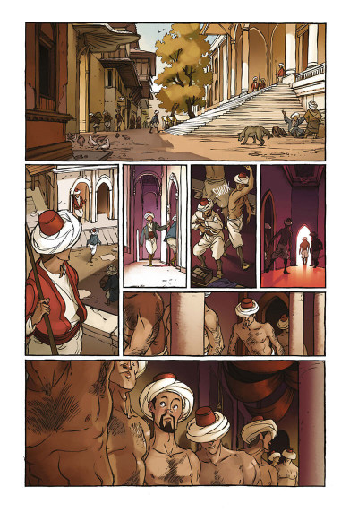 Page 8 Delilah Dirk tome 1
