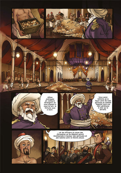 Page 9 Delilah Dirk tome 1