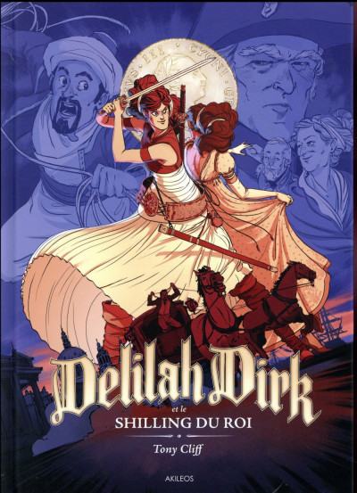 Couverture Delilah Dirk tome 2