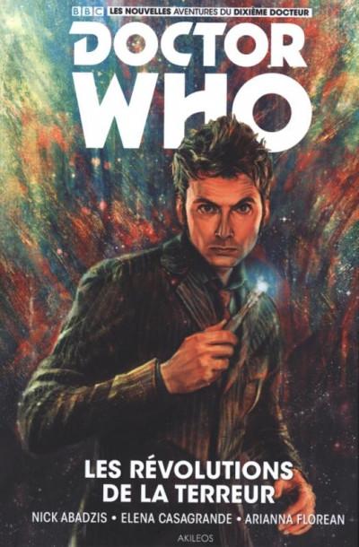 Couverture Doctor Who - Les nouvelles aventures du 10e docteur tome 1