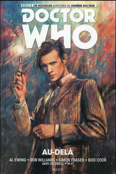 Couverture Doctor Who - les nouvelles aventures du 11ème docteur tome 1