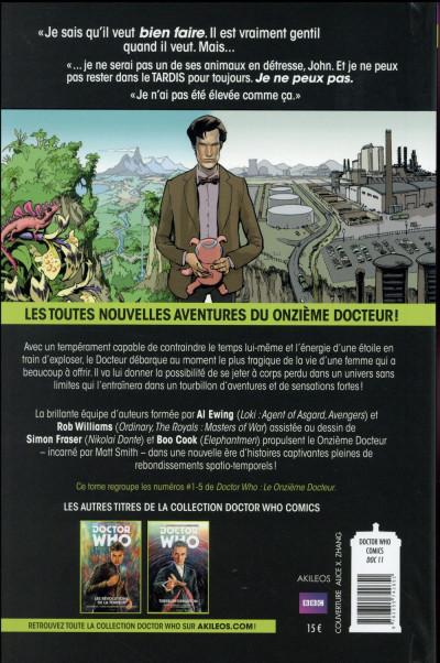 Dos Doctor Who - les nouvelles aventures du 11ème docteur tome 1