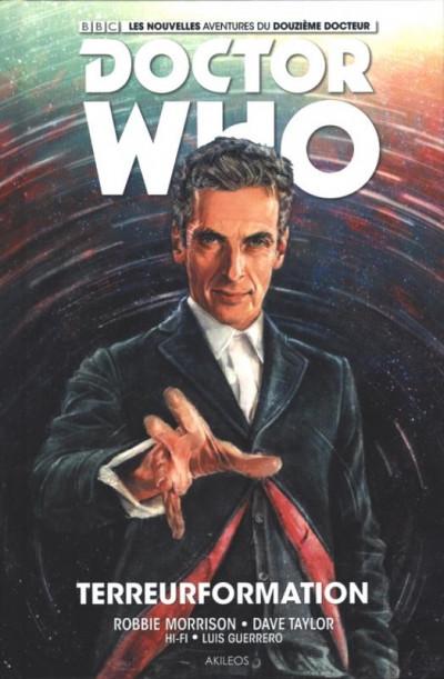 Couverture Doctor Who : les nouvelles aventures du 12ème docteur tome 1