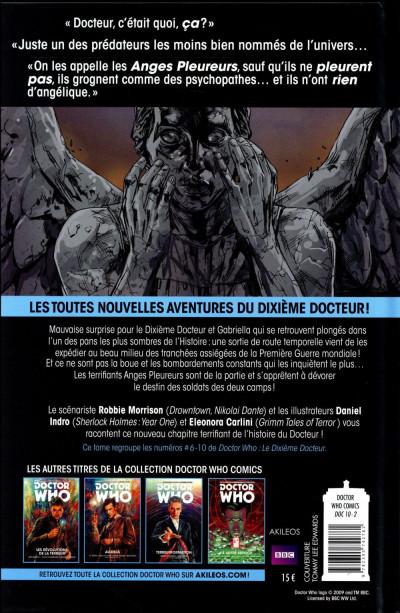 Dos Doctor Who - Les nouvelles aventures du 10e docteur tome 2