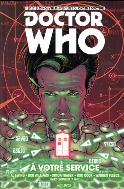 Couverture Doctor Who - les nouvelles aventures du 11ème docteur tome 2