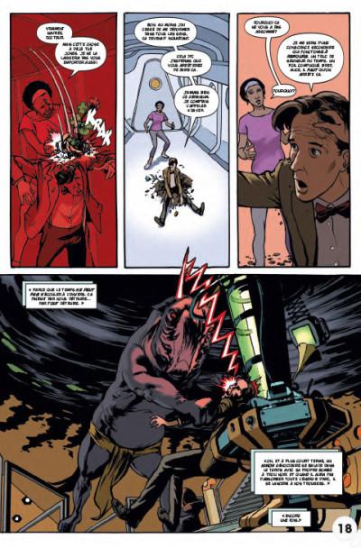 Page 5 Doctor Who - les nouvelles aventures du 11ème docteur tome 2