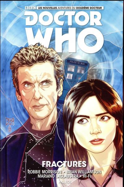 Couverture Doctor Who : les nouvelles aventures du 12ème docteur tome 2