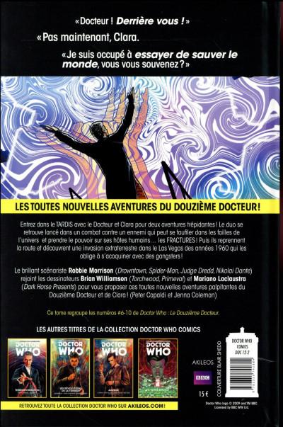 Dos Doctor Who : les nouvelles aventures du 12ème docteur tome 2