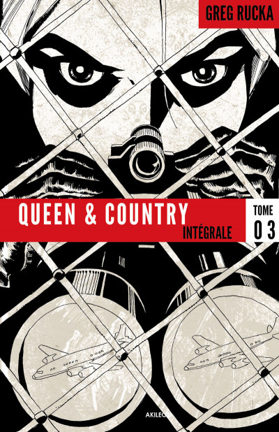 Couverture Queen & country - intégrale tome 3
