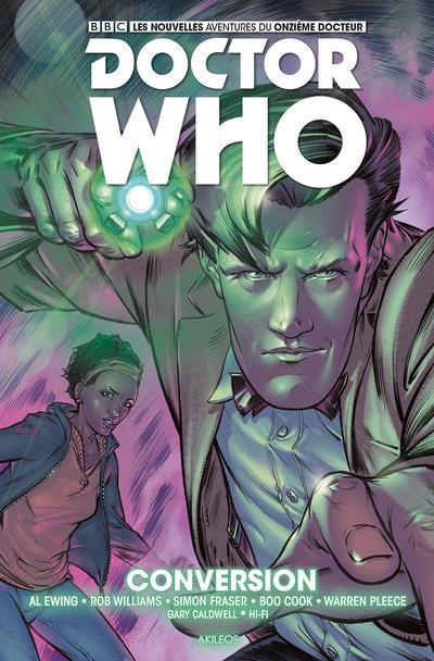 Couverture Doctor Who - Les nouvelles aventures du 11ème docteur tome 3