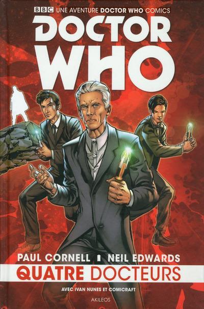 Couverture Doctor Who - Les 4 docteurs