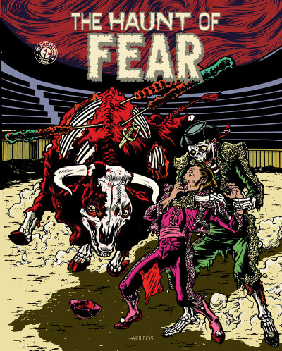 Couverture The haunt of fear tome 2