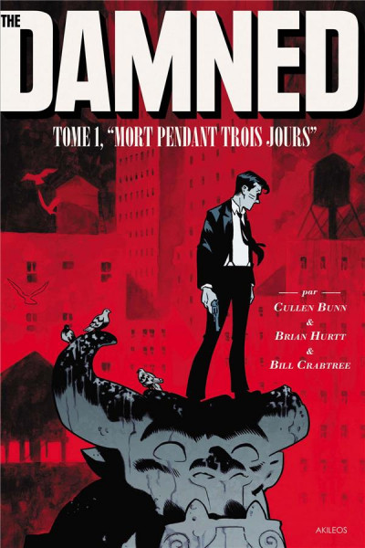 Couverture The damned tome 1