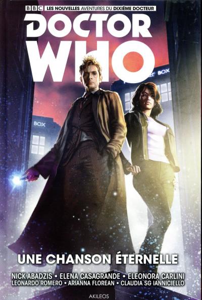Couverture Doctor Who - Les nouvelles aventures du 10ème docteur tome 4