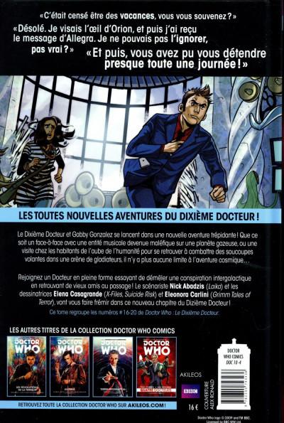 Dos Doctor Who - Les nouvelles aventures du 10ème docteur tome 4