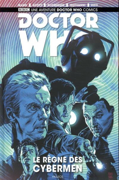 Couverture Doctor who - Le règne des cybermen