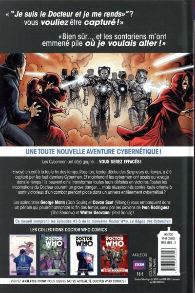 Dos Doctor who - Le règne des cybermen