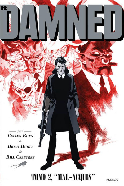 Couverture The damned tome 2