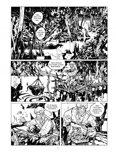 Page 1 La cité des chiens - intégrale n&b