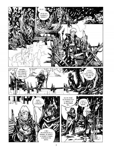 Page 2 La cité des chiens - intégrale n&b