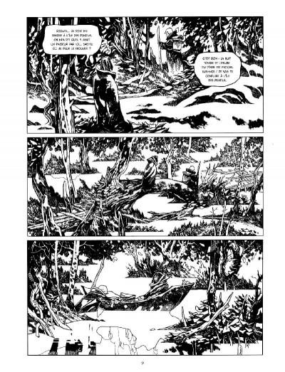 Page 3 La cité des chiens - intégrale n&b