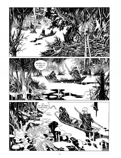 Page 4 La cité des chiens - intégrale n&b