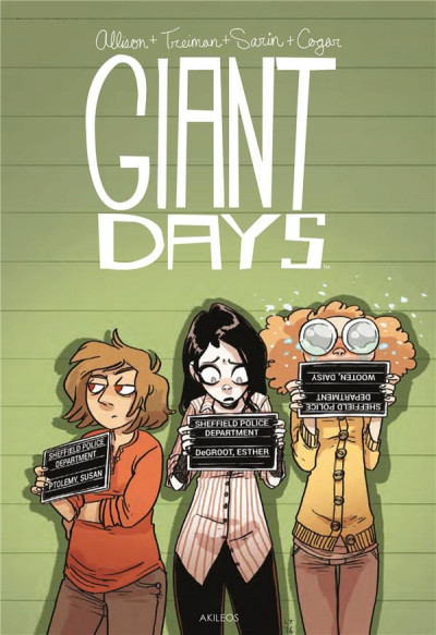 Couverture Giant days tome 6