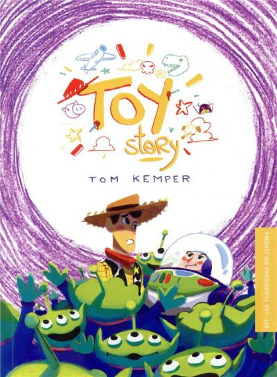 Couverture Les classiques du cinéma - Toy story