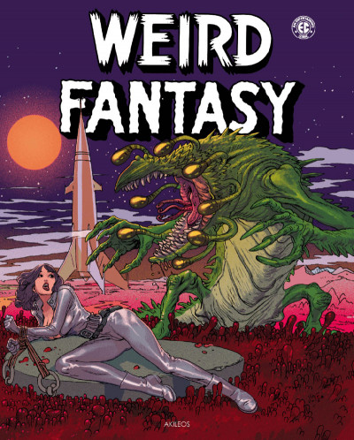 Couverture Weird fantasy tome 2