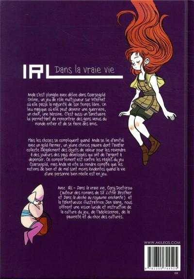 Dos IRL - Dans la vraie vie (ned)