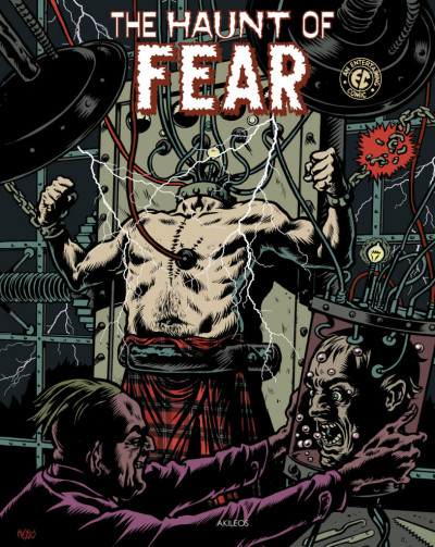 Couverture The haunt of fear tome 3