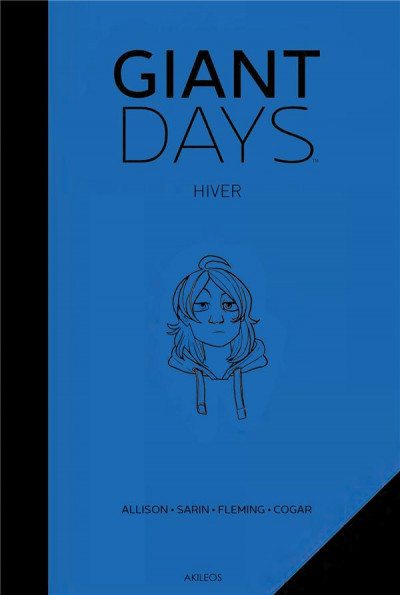 Couverture Giant days - Hiver