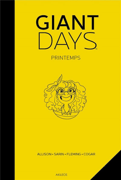 Couverture Giant days - Printemps