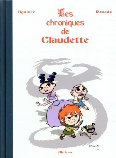 Couverture Les chroniques de Claudette