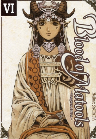 Couverture blood of matools tome 6