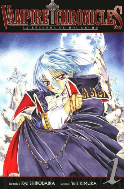 Couverture vampire chronicles, la légende du roi déchu tome 1