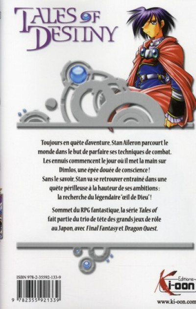 Dos tales of destiny tome 1