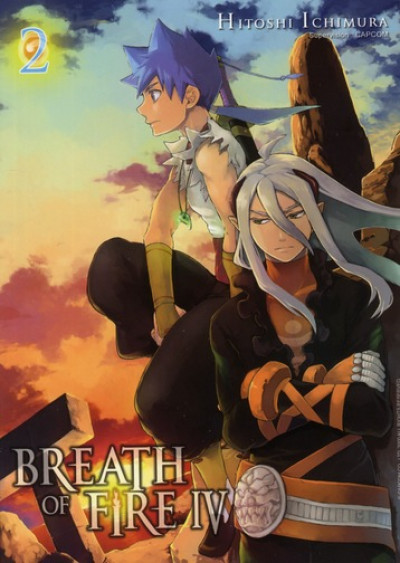 Couverture breath of fire iv tome 2