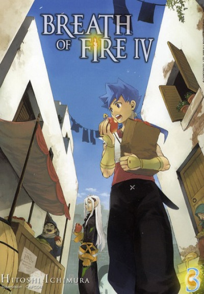 Couverture breath of fire iv tome 3